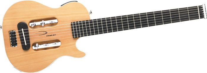 Traveler Guitar Escape Mk-Ii Nylon String Travel Guitar Natural