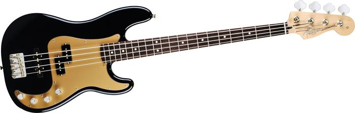 Fender Deluxe P Bass Special 4-String Bass Black Rosewood Fretboard