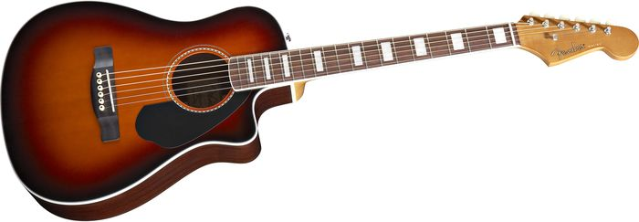 Fender Malibu SCE Acoustic-Electric Guitar 3-Tone Sunburst