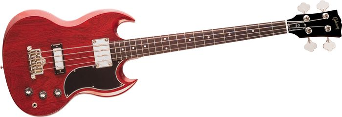 Gibson Sg Standard 4-String Bass Heritage Cherry Chrome Hardware