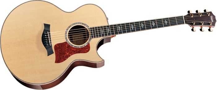 Taylor 815Ce Cutaway Jumbo Acoustic-Electric Guitar Natural
