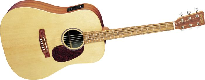 Martin Dx1e Dreadnought Acoustic-Electric Guitar Natural