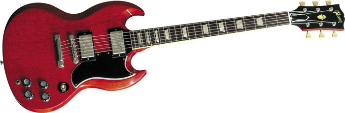 Gibson Custom Sg Standard Vos Electric Guitar Faded Cherry