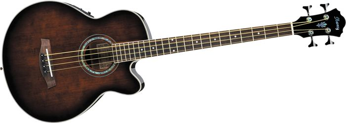 Ibanez Aeb10e Acoustic-Electric Bass Guitar W/ Onboard Tuner