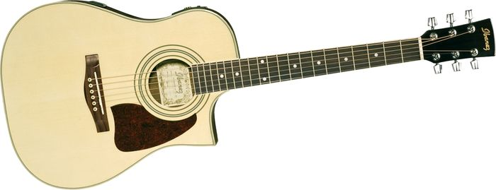 Ibanez Daytripper Series Dt100ece Acoustic-Electric Guitar Natural