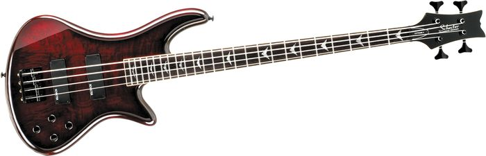 Schecter Guitar Research Stiletto Extreme-4 Bass Black Cherry