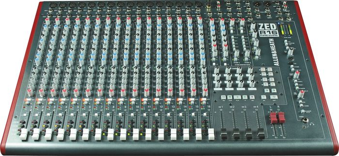 Allen & HeathZED-R16 16-Channel FireWire MixerFront