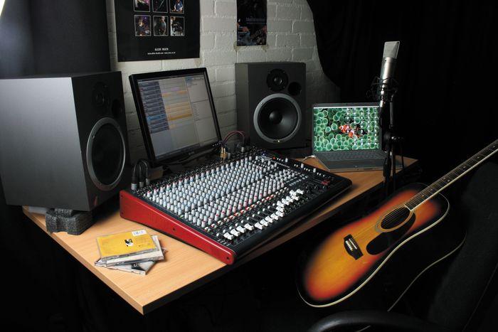 Allen & HeathZED-R16 16-Channel FireWire MixerIn Studio 2