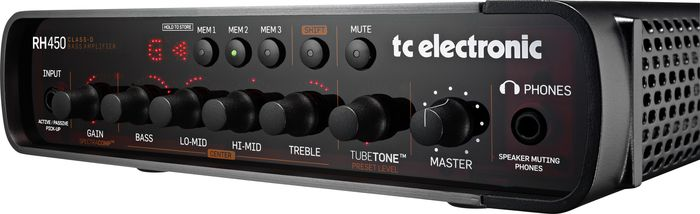 TC Electronic RH450 Bass Amp Head Black