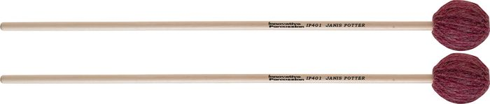 Innovative Percussion Janis Potter Series Birch Marimba Mallets SOFT BIRCH