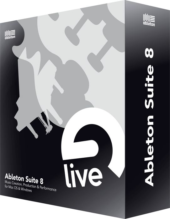 Ableton Suite 8 Upgrade from Ableton Live Lite.