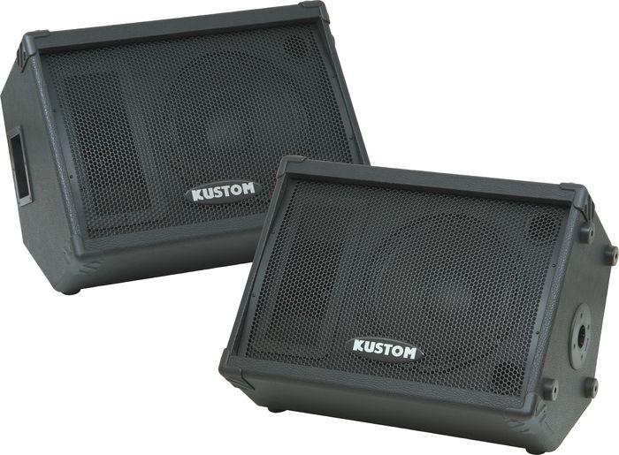 Kustom KPC12M 12-Inch Monitor Speaker Cabinets