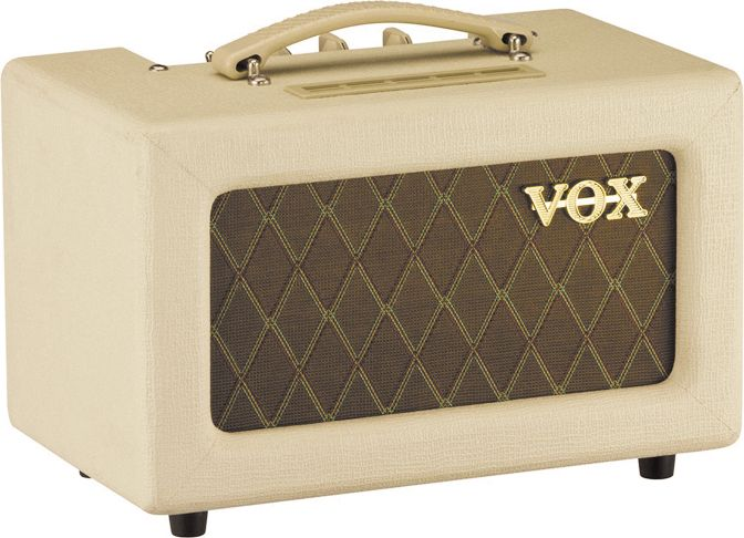 Vox Ac4tvh 4W Tube Guitar Amp Head Cream