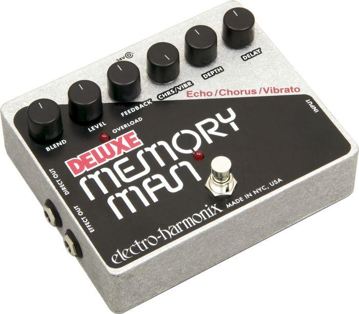 Electro-Harmonix Deluxe Memory Man Xo Analog Delay Guitar Effect Pedal