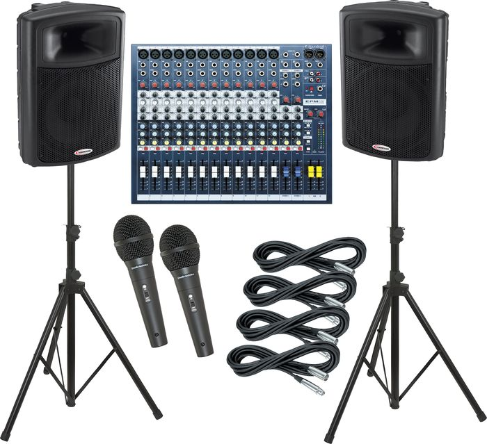 Soundcraft EPM12 / Harbinger APS15 PA Package