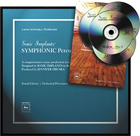 Sonic Implants Symphonic Percussion Collection for Gigastudio