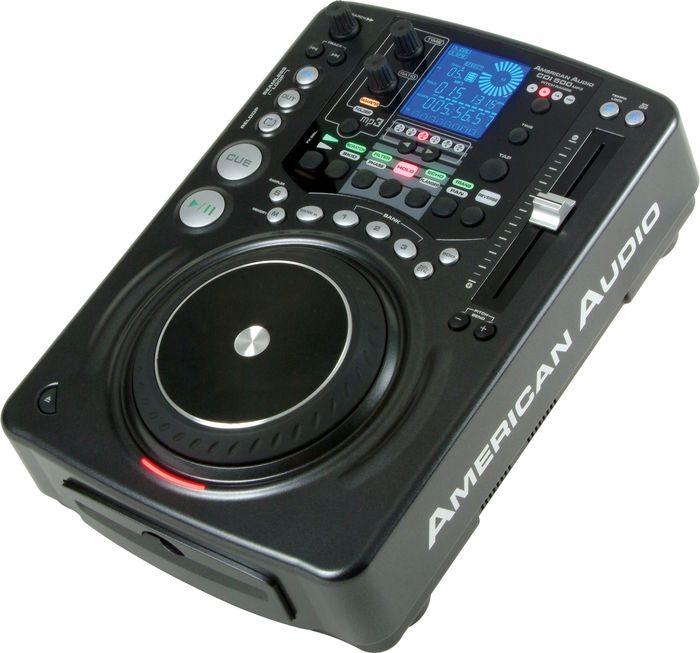American audio cdi 500 mp3 professional single mp3 cd player