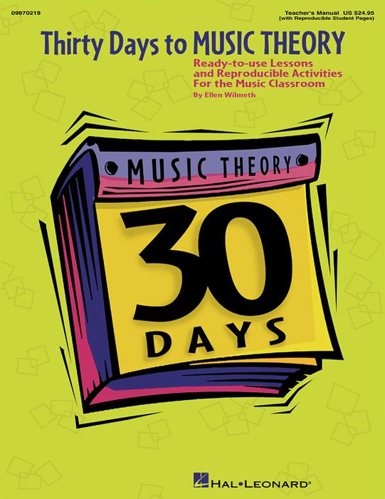 Hal Leonard 30 Days to Music Theory (Classroom Resource)
