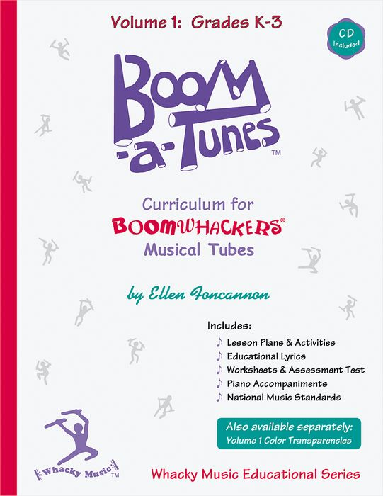 BOOMWHACKERS Boom-A-Tunes Curriculum Volume 1 (Book/CD )