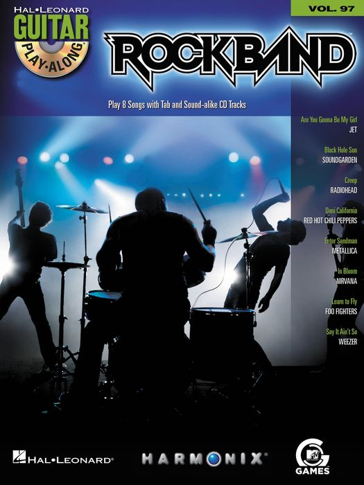 Rock Band Modern Rock Ed. Guitar  Vol 97 Book/Cd Set