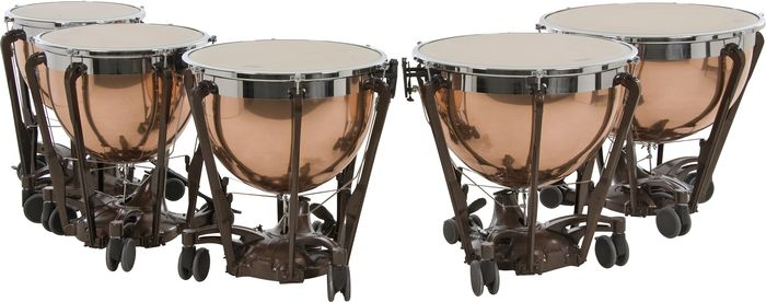 Adams Professional Series Generation II Polished Copper Timpani 23 Inch