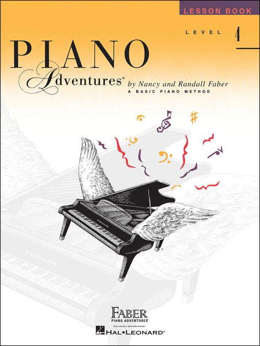 Faber Music Piano Adventures Lesson Book Level 4