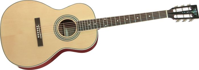 Aria AP-STD-II Parlor Acoustic Guitar Natural