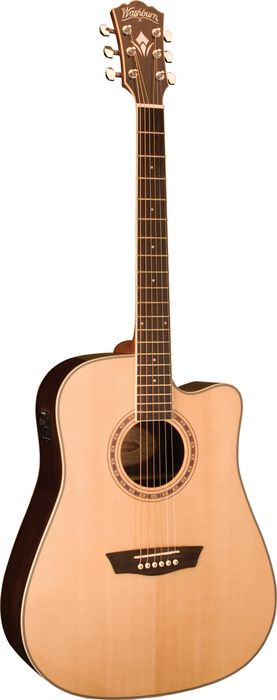 Washburn WD20SCE Dreadnought Acoustic-Electric Guitar