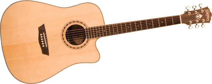 Hands-On Review: Washburn WD20SCE Dreadnought AE Guitar
