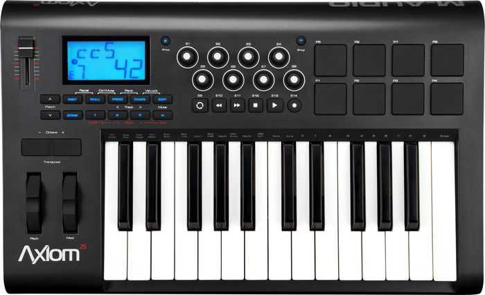 M-Audio Axiom 25 2nd Gen 25-Key USB MIDI Keyboard Controller