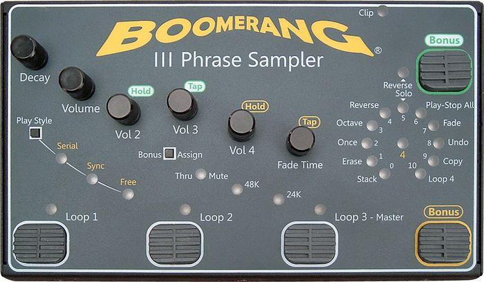 Boomerang III Phrase Sampler Looper