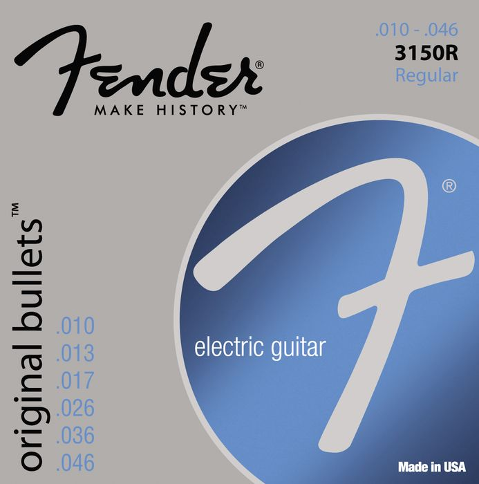 Hands-On Review: Fender Bullets Strings