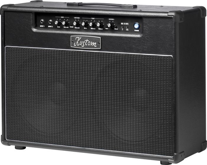 Kustom Kg212fx 30W 2X12 Guitar Combo Amp With Digital Effects Black