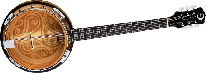 Luna Guitars Celtic 6-String Banjo