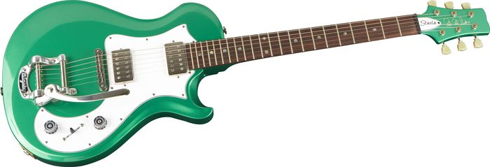 Prs Starla Ltd Electric Guitar W/ Bigsby Metallic Green