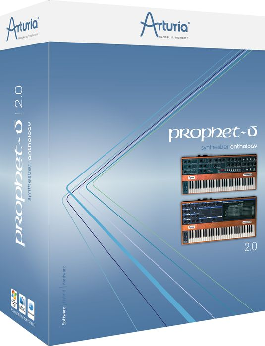 Arturia Prophet-V 2.0 Virtual Instrument Software