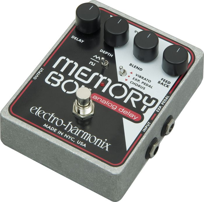 electro harmonix memory boy analog delay guitar effects pedal 683274010984 ebay. Black Bedroom Furniture Sets. Home Design Ideas