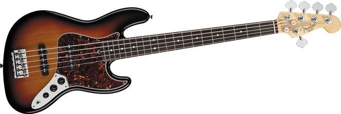 Fender American Standard 5 String Jazz Bass V 3-Tone Sunburst