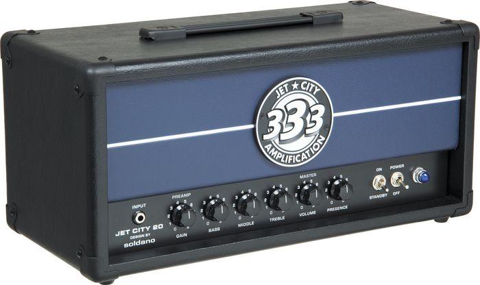 Jet City Amplification JCA20H 20W Tube Guitar Amp Head Black