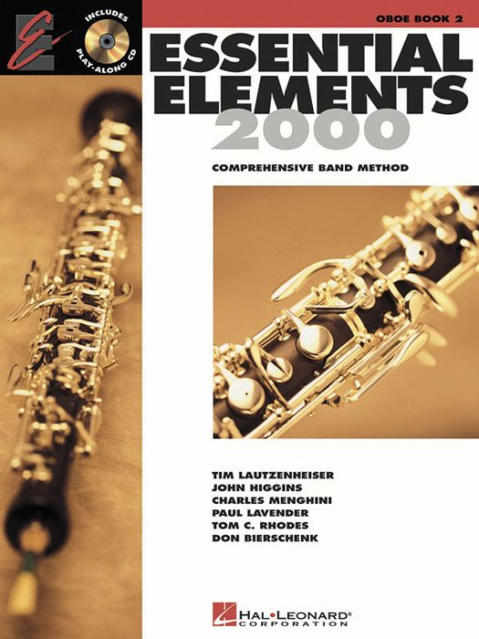 Hal Leonard Essential Elements 2000 for Oboe (Book 2 with CD)