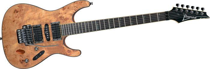 Ibanez S770PB Electric Guitar Natural Flat