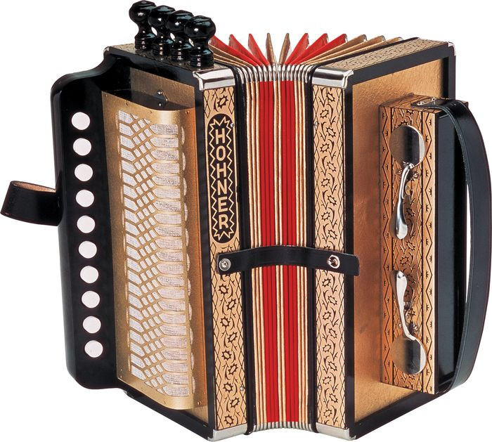 Hohner One Row Cajun Accordion Key Of D