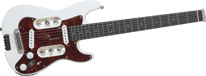 Traveler Guitar EG-2 Travel Electric Guitar White