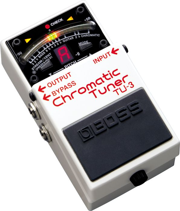 Product Spotlight: Boss TU-3 Chromatic Pedal Tuner