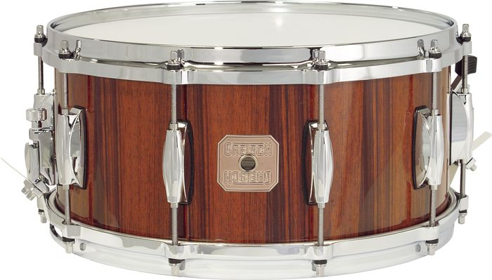 Gretsch Drums Full Range Rosewood Snare Drum 6.5 x 14 Natural