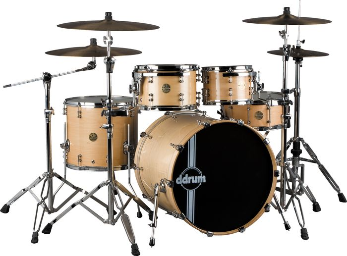 Ddrum Dios Maple Player 5-Piece Shell Pack Natural