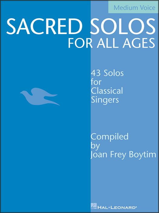 Hal Leonard Sacred Solos for All Ages for Medium Voice