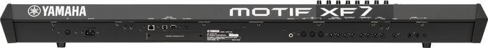 Yamaha MOTIF XF7 Keyboard Workstation Rear