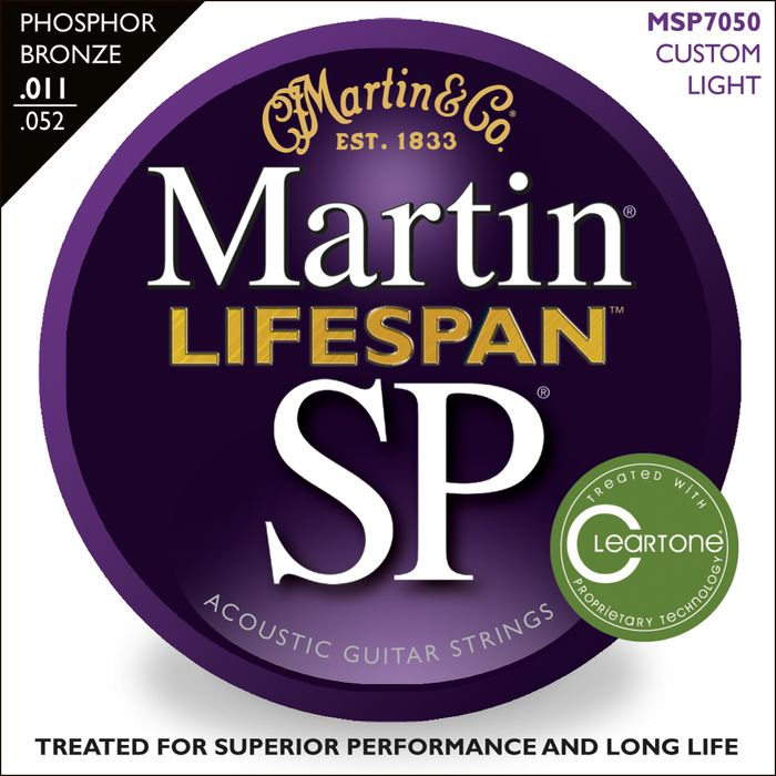 Martin Lifespan Phosphor Bronze Custom Lights