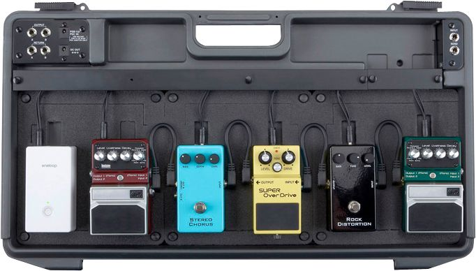 SANYO Pedal Juice With Pedalboard